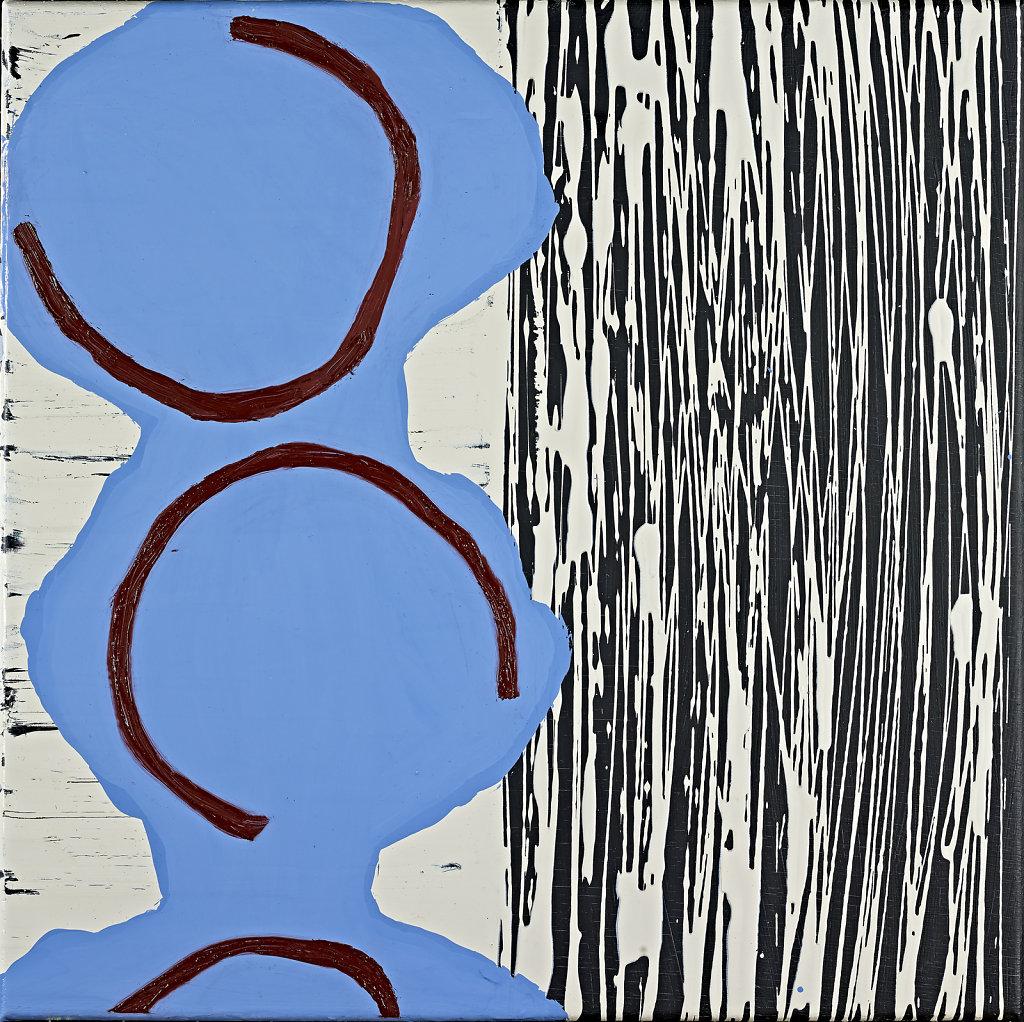 lfarbe und lack auf leinwand 40 x 40 cm 2014 sybille hassinger. Black Bedroom Furniture Sets. Home Design Ideas